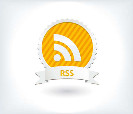 Rss icon and button Stock Vector - 17296716