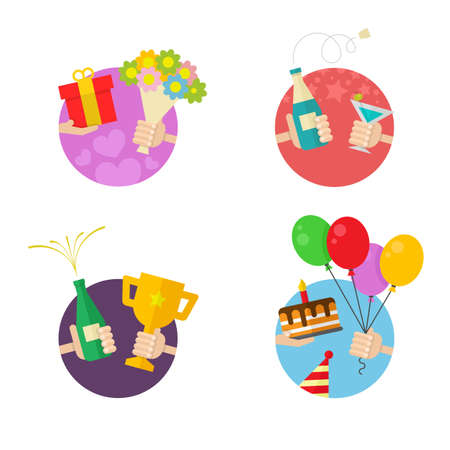 4 Party and Celebration icons
