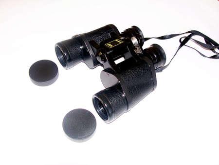 Binoculars on isolated background Stok Fotoğraf