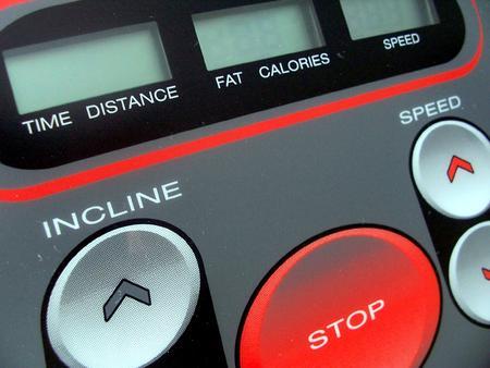 Treadmill console Stock fotó