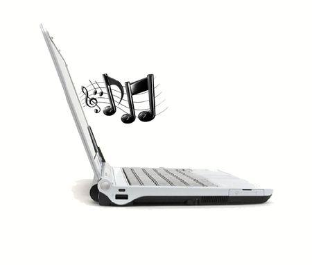 Online Music Stock Photo - 1861246