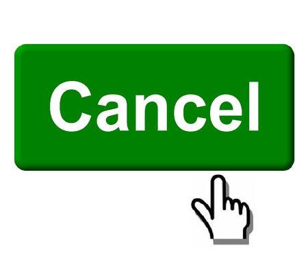 Cancel Button Фото со стока