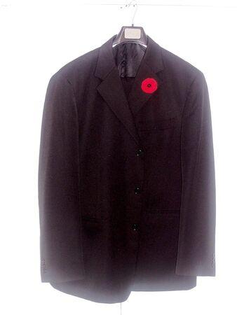 Jacket & poppy photo