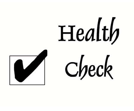 Health Check Stock Photo
