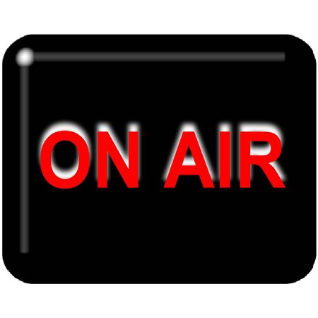 On Air Stock Photo