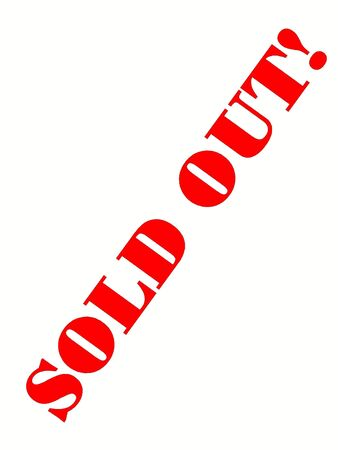 Sold Out Stock Photo - 2121195