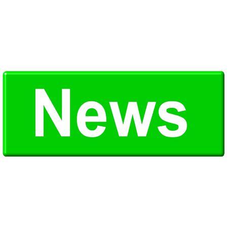 News Button Reklamní fotografie