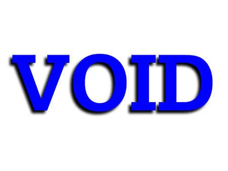 void: Void sign