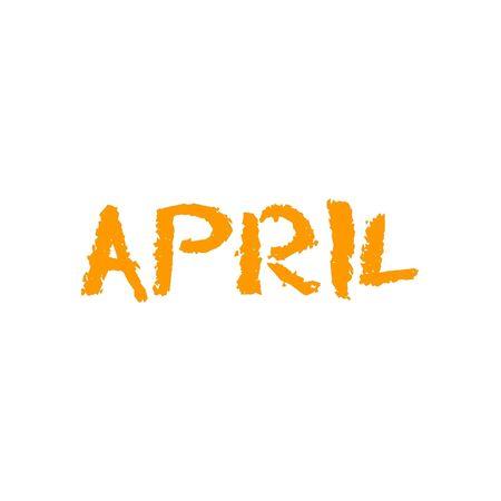 April Month Imagens