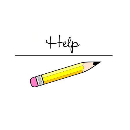 help: Help Stock Photo