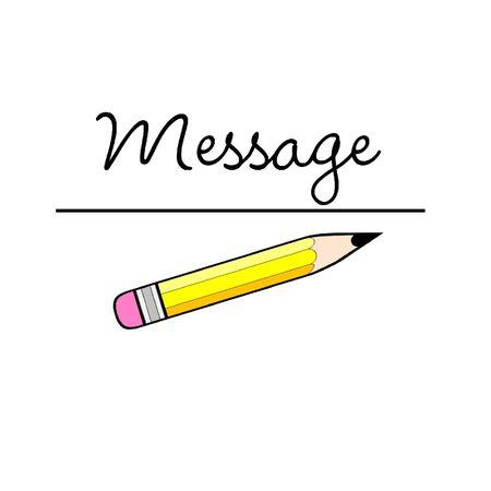 メッセージ 写真素材 - 3040295