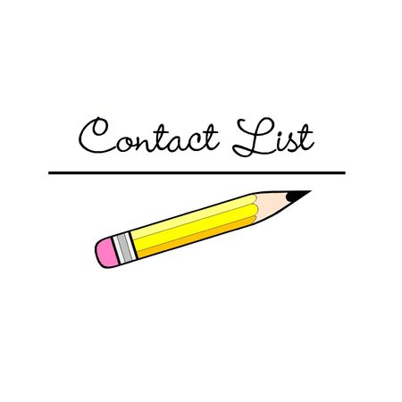contact: Contact list