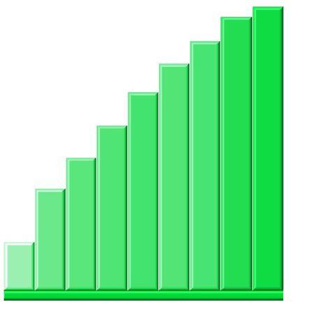 Sales Graph Stock fotó