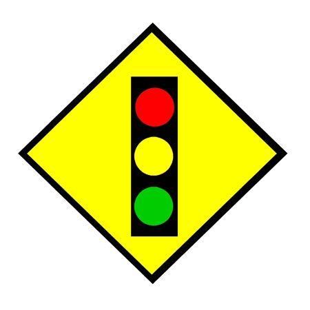 Traffic light sign 스톡 콘텐츠
