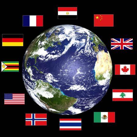 world flags: World flags