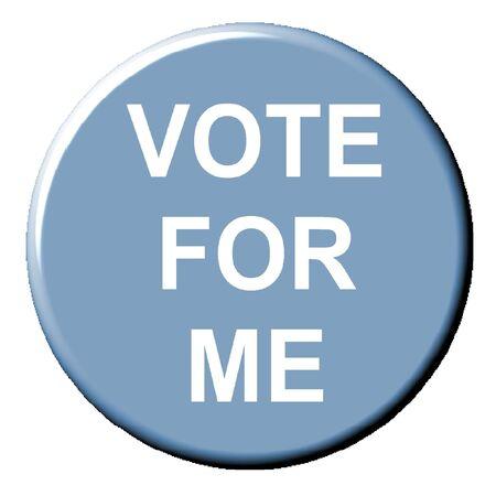 vote: Vote for me button