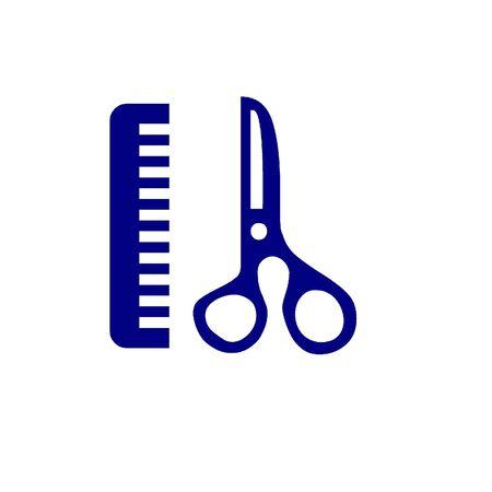 Comb and scissors