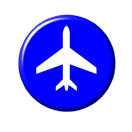 Plane Button Imagens