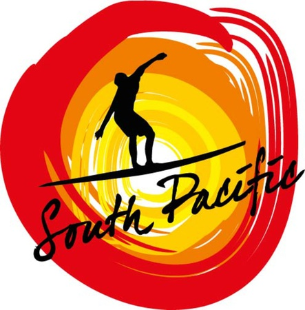 pacific surfer champion club graphic design