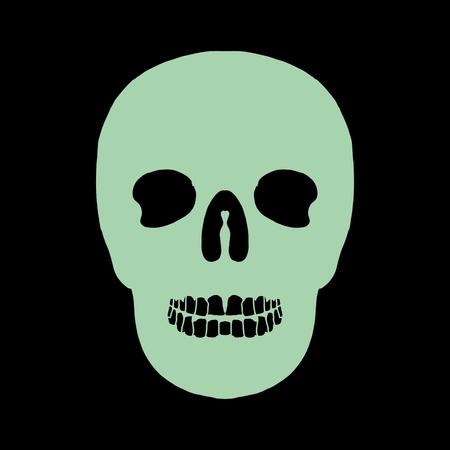 tattoo tribal mexican skull vector art Stock Vector - 19582209