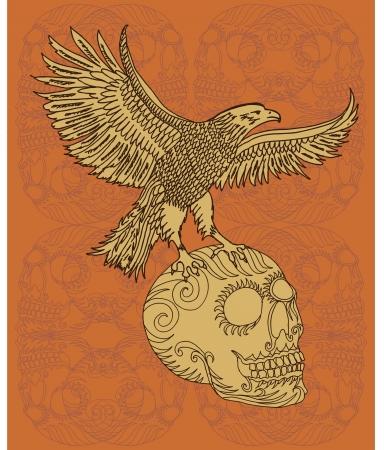 swoop: �guila y arte vectorial cr�neo