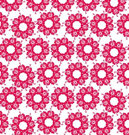 spring hibiscus flower vector art Stock Vector - 19648737