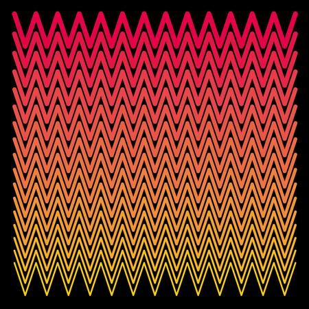 zig zag pattern textile vector art