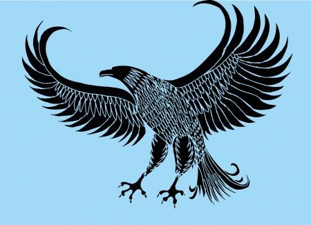 talon: tattoo tribal birds vector art