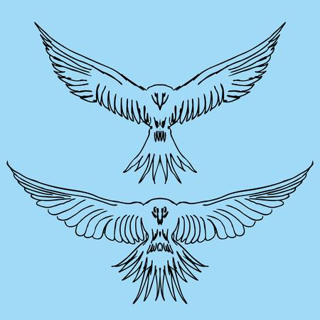 tatuaje tribal aves art