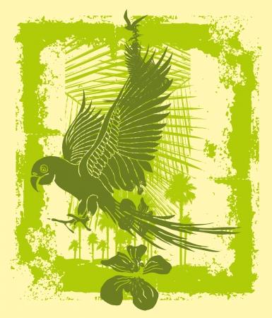 tattoo tribal birds vector art Stock Vector - 22270942