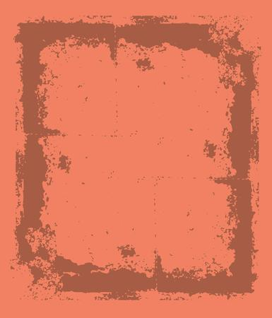 handled: grunge brush frame vector art