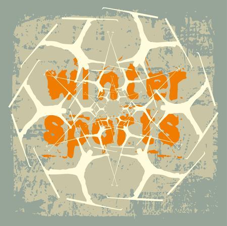 sport invernali: skier sport invernali