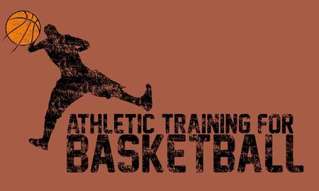 college basketball sports art Stock Vector - 22362208