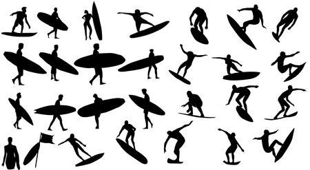 태평양 서퍼 챔피언 클럽 그래픽 디자인 일러스트