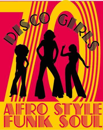 disco girls art Illustration