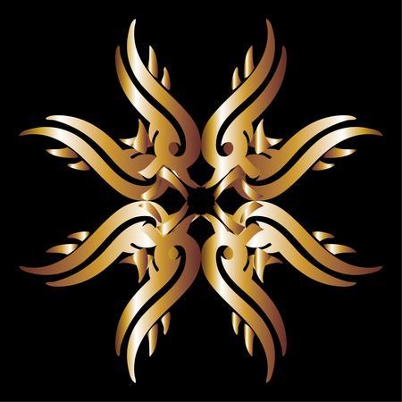 tattoo tribal ethnic pattern vector art