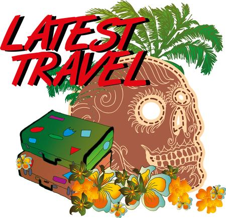 chaser: tattoo tribal skull island vector art