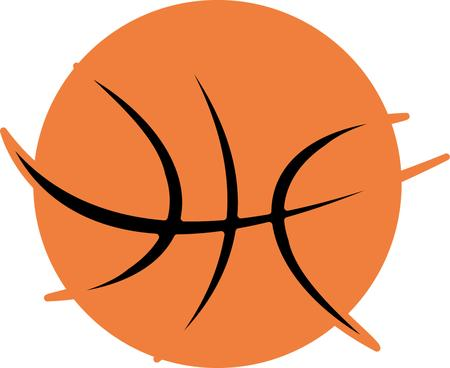 college basketball sports vector art Stock Vector - 22751781