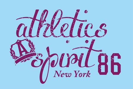 american college sports vector art Vector