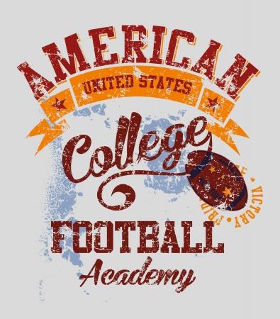 american college sports vector art Фото со стока - 23153591