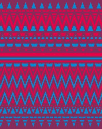 geometric ethnic design vector art Vector