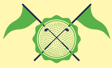sward: attrezzature sportive golf illustrazione arte