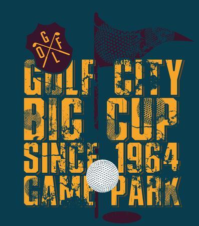 dimple: golf sports equipment vector art