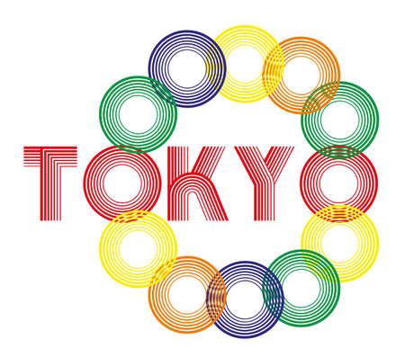 tokyo vector art