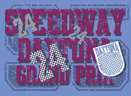 speedway: speedway grand prix vector art Illustration