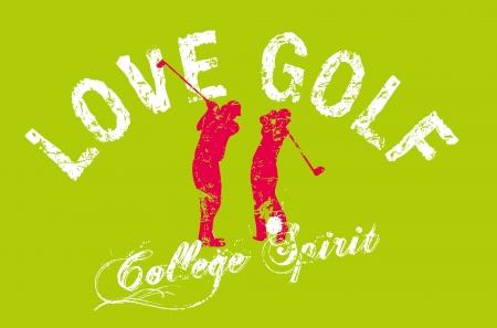 summer sports golf player