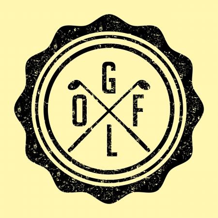 sward: golf attrezzature sportive arte Vettoriali