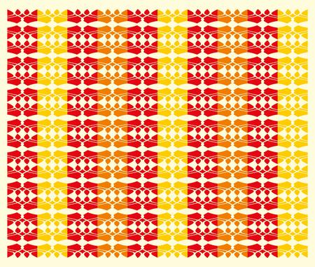 ethnic textile design art Vector