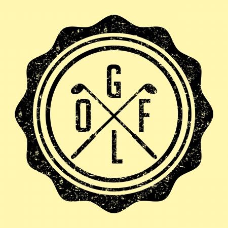 sward: golf attrezzature sportive vettoriale arte Vettoriali