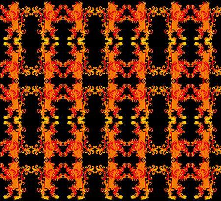 tattoo tribal red lion pattern art